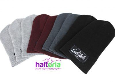 poznań haft komputerowy haftowane czapki z logo