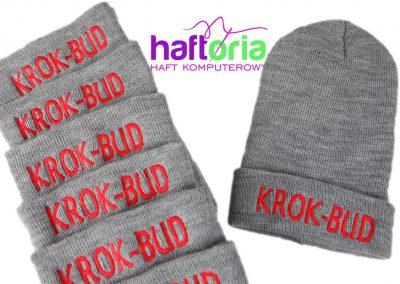 haftowana czapka z logo firmy czapka z wlasnym napisem haftowana